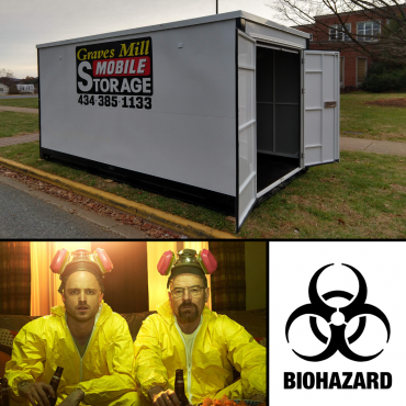 Corona Virus mobile quarantine BOX