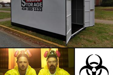 Corona Virus mobile quarantine BOX