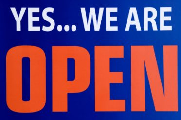 We're still open!!!!
